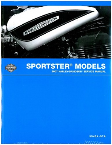 2007 harley davidson sportster motorcycle service manual rh repairmanual com sportster 2007 service manual 2007 sportster repair manual pdf