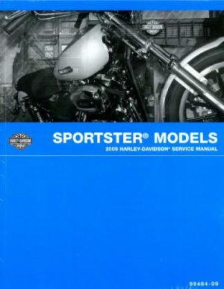Official 2009 Harley Davidson Sportster Service Manual