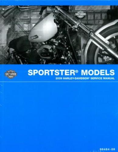 harley davidson sportster 2009 service repair manual