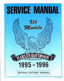 Official 1995-1996 Harley Davidson XL Service Manual