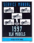 Official 1997 Harley-Davidson XL 883 1200 Sportster Service Manual