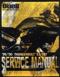 Official 1999-2000 Buell S3 S3T Thunderbolt Service Manual