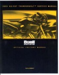 Official 2001 Buell S3 S3T Service Manual