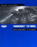 Official 2002 Buell S3 S3T Service Manual