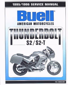 Official 1995-1996 Buell S2 S2T Service Manual