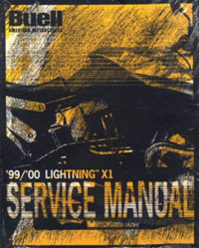 1999-2000 Buell Lightning X1 Motorcycle Service Manual