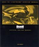 Official 2001 Buell X1 Lightning X1 Service Manual