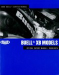 Official 2008 Buell XB Factory Service Manual