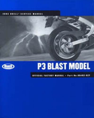 2002 buell p3 blast motorcycle service manual