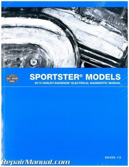 official 2013 harley davidson sportster electrical diagnostic manual