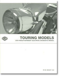 2004 Harley Davidson Touring Motorcycle Electrical Diagnostic Manual