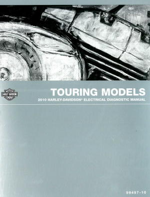 official 2010 harley davidson touring electrical diagnostic manual