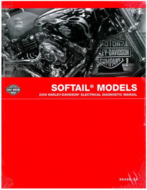 Official 2009 Harley Davidson Softail Electrical Diagnostic Manual