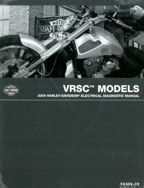home electrical wiring diagrams made easy 2009 harley davidson vrsc v rod motorcycle electrical #13