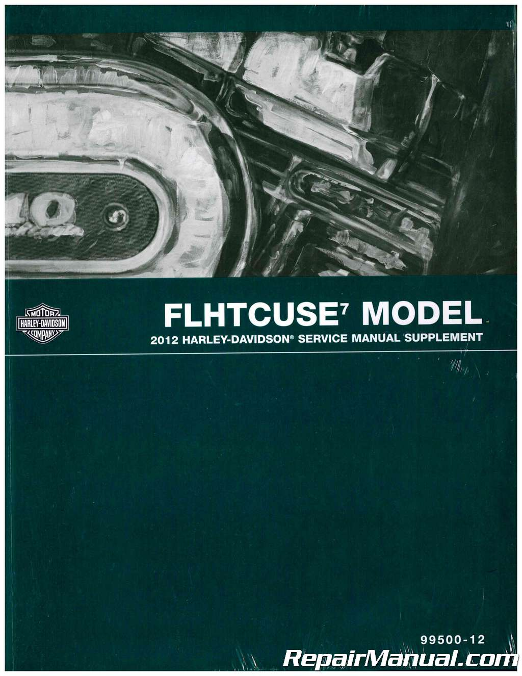 2012 Harley-Davidson FLHTCUSE7 CVO Ultra Classic Electra Glide Motorcycle  Service Manual Supplement