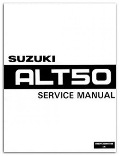suzuki alt50 manual trailbuddy 1983 1984 rh repairmanual com Suzuki 50 3 Wheeler suzuki alt 50 service manual
