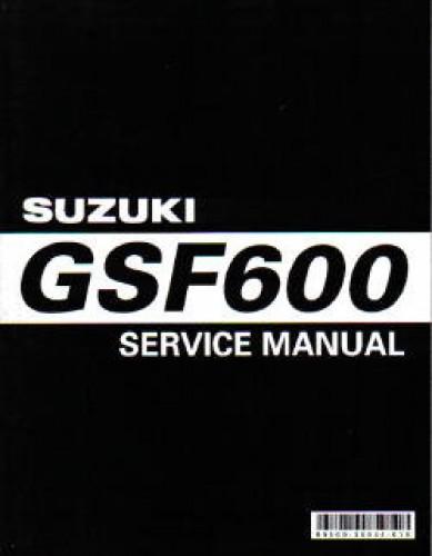 1995 2000 Suzuki Gsf600 Bandit Service Manual