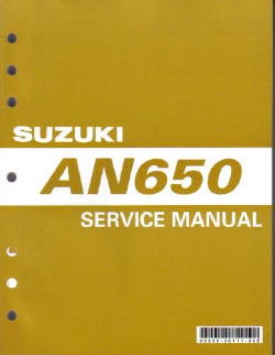2003 2012 suzuki an650 a burgman 650 service manual rh repairmanual com an650 service manual pdf an 650 service manual