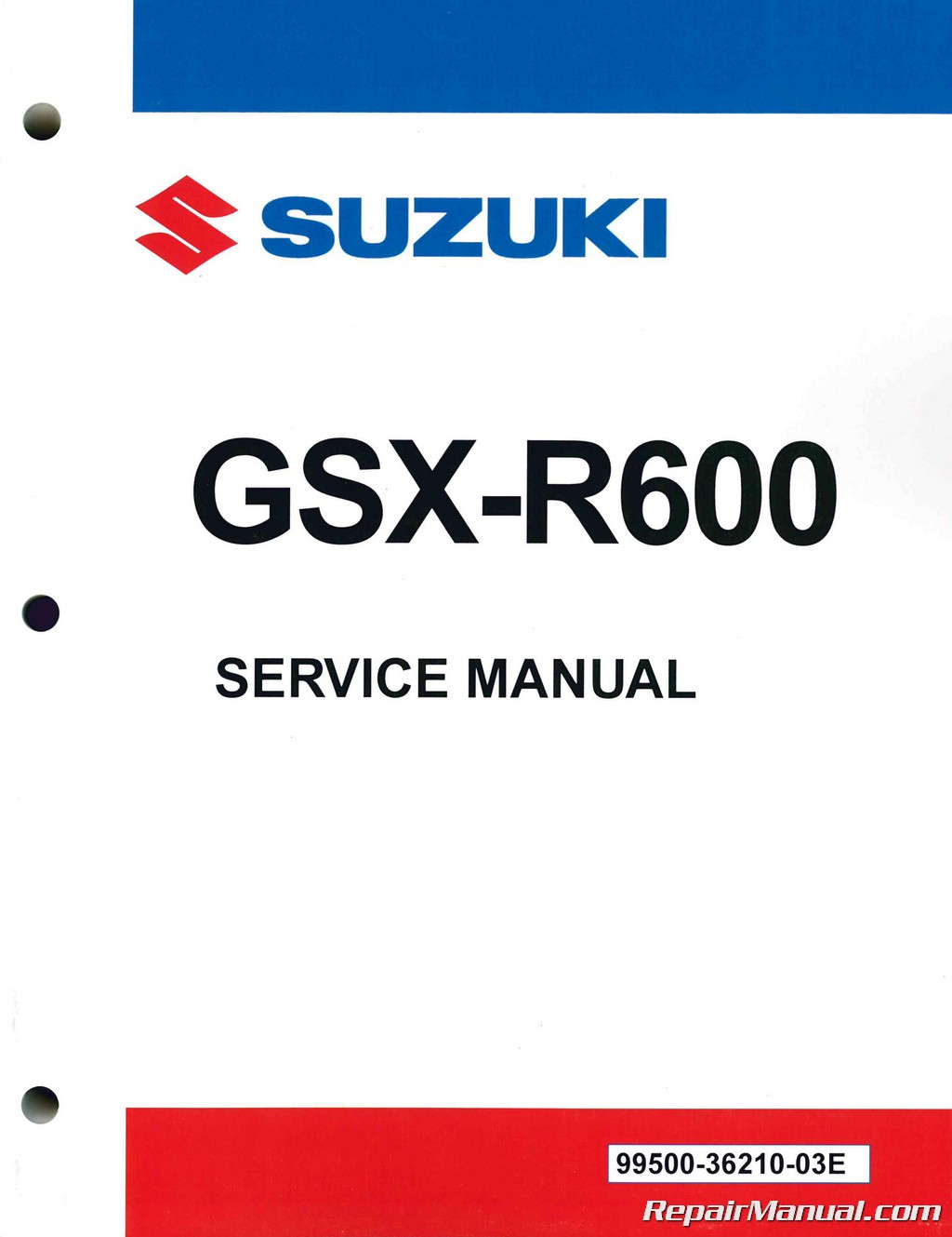 Suzuki gsxr600 1997 1998 1999 2000 workshop service repair manual p.