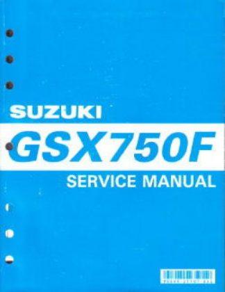 Official 1998-2007 Suzuki GSX750F Katana Factory Service Manual