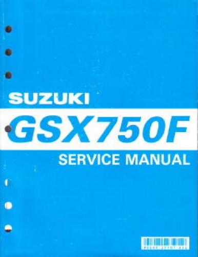 1998 2007 suzuki gsx750f katana motorcycle service manual rh repairmanual com suzuki gsxf 750 service manual suzuki gsx750f service manual free download