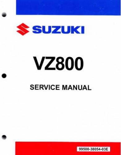 2005 2016 suzuki vz800 marauder boulevard m50 motorcycle service manual rh repairmanual com 2006 Suzuki M90 2006 suzuki boulevard c50 owners manual pdf