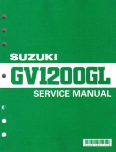 Official 1985-1986 Suzuki GV1200GL Madura Factory Service Manual