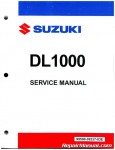 Suzuki DL1000 V-Strom 2002-2012 Factory Service Manual