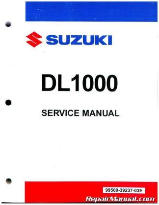 Suzuki DL1000 V-Strom 2002-2012 Factory Service Manual