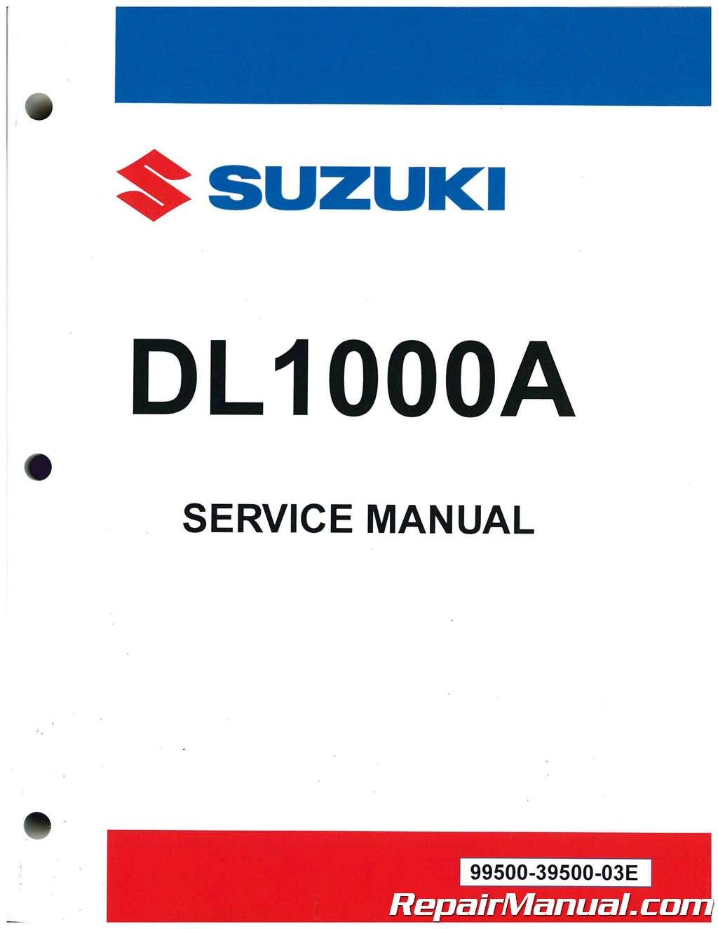 2014 2018 suzuki dl1000a v strom motorcycle service manual rh repairmanual com suzuki v strom manual pdf suzuki v strom shop manual