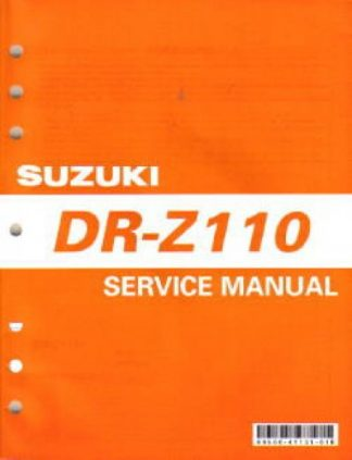 Official 2003-2005 Suzuki DR-Z110K3-K5 Factory Service Manual