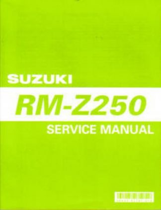 Used 2004-2005 Suzuki RMZ-250 Factory Service Manual