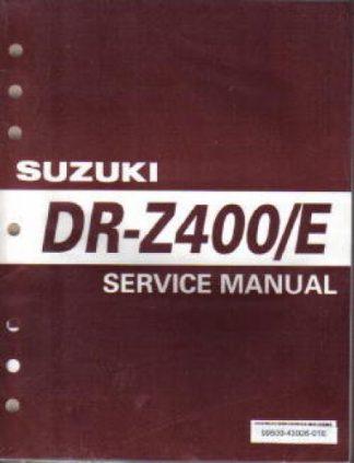 Official 2000-2007 Suzuki DR-Z400 E Motorcycle Service Manual
