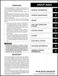 Official 2000 Suzuki DR-Z400S Motorcycle Factory Service Manual