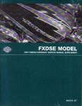 Official 2007 Harley Davidson FXDSE Service Manual Supplement