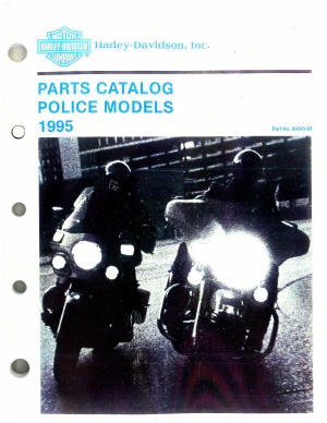 Official 1995 Harley-Davidson FLHTP Parts Manual