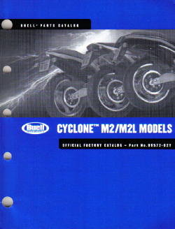 Official 2002 Buell M2 M2L Cyclone Parts