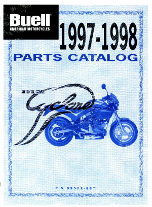 Official 1998 Buell M2 Parts Manual