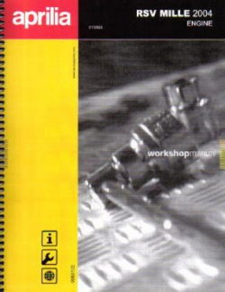 Official 2004 Aprilia RSV1000R Factory Engine Service Manual