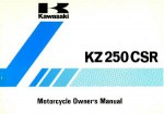 1982 Kawasaki KZ250-L1 CSR Owners Manual