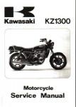 Official 1979-1983 Kawasaki KZ1300 Motorcycle Factory Service Repair Manual