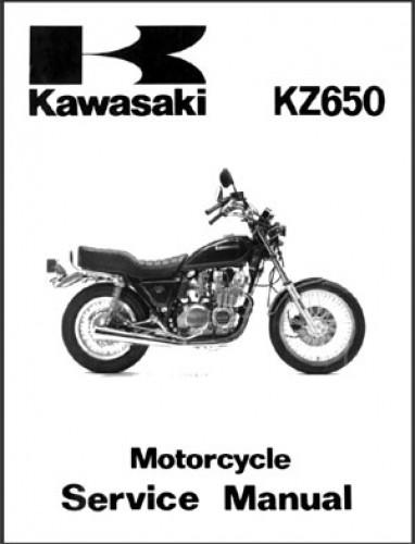 1981 kawasaki kz650 service manual rh repairmanual com 1978 Kawasaki KZ650 Parts 1978 KZ650 Specs