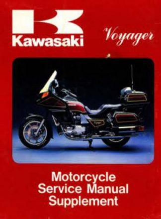 1983-1984 Kawasaki Voyager 1300 Factory Supplement Manual