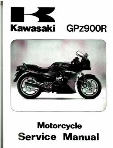 1984 2003 kawasaki gpz900r zx900 motorcycle service manual rh repairmanual com 1989 Kawasaki Ninja Kawasaki Ninja 900R
