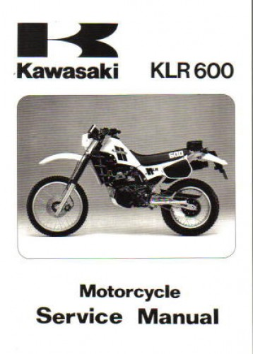 1984 kawasaki klr600 base for 1984 2007 klr250 klr600 klr650 rh repairmanual com klx 250 service manual download klx 250 service manual 2009