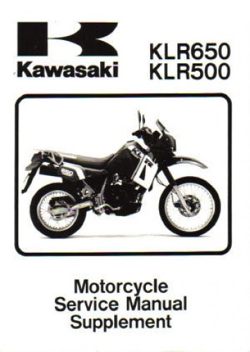 1987 2006 kawasaki klr650 service manual supplement rh repairmanual com 2006 klr 650 owners manual 2006 klr 650 owners manual pdf