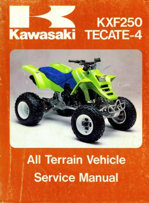1987 KXF250-A1 Tecate 4 Factory Service Manual