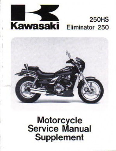 Kawasaki El Eliminator Service Manual