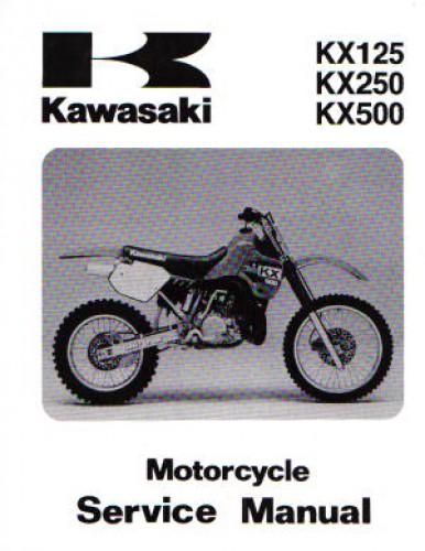 1988 kawasaki kx125 kx250 kx500 service manual rh repairmanual com 2003 kawasaki kx 125 service manual 2003 kawasaki kx125 service manual pdf