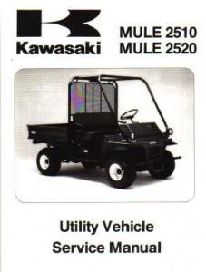 1993-2003 Kawasaki KAF620 MULE 2510 MULE 2520 Service Manual